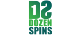 dozen spins logo UK kasinoarvostelu