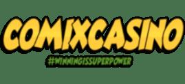 comix casino png logo